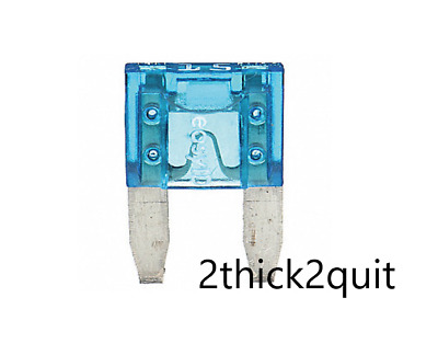 50 Pack 1A Mini Blade Style Fuses APM//ATM 32V Short Circuit Protection Fuse US