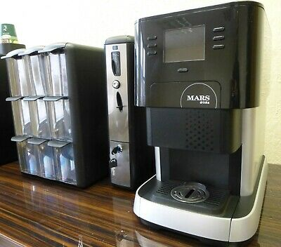 Flavia 500 With Coin Vend & 9 Drawer Holder Tea/Coffe /Espress /Hot Choc & More