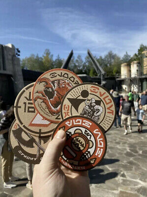 Disney Galaxy Edge Star Wars Olga's Cantina Coasters 2019 Set Of 5 Disneyland