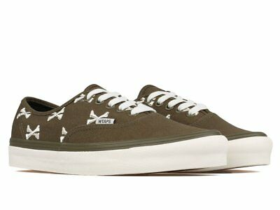 VANS OG AUTHENTIC Lx Wtaps Cross Bones Olive Green Whisper