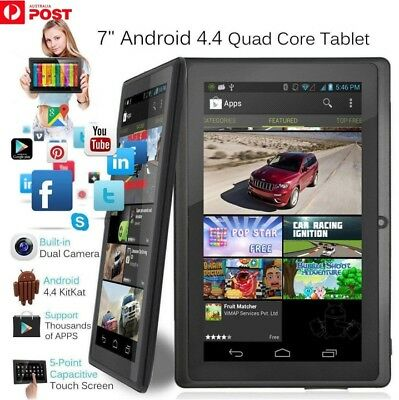 7 Inch Android4.4 Quad Core Dual Camera Tablet 8GB Bluetooth Wifi Tablet Gift On