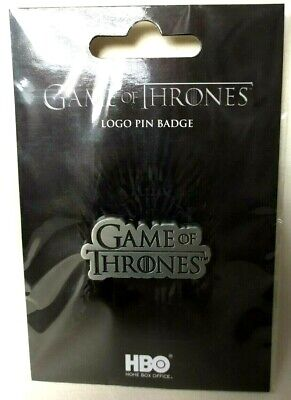 Game of Thrones pins 4 x 2 cm logo titre HBO 2019 pin's collector