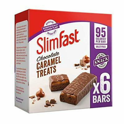 SlimFast Chocolate Caramel Snack Bar Multipack- Box of 30 Bars