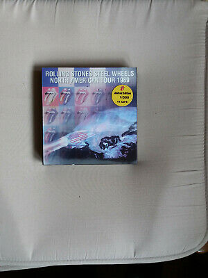 The Rolling Stones : Steel wheels North America Tour 1989 (14 Cd) 9/500 copies