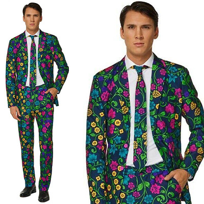 Mens Adult Suit Suitmeister Prom Wedding Halloween Festival Party Stag Outfit