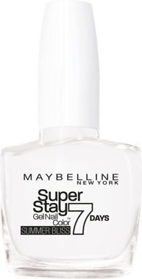 Maybelline Forever Strong Superstay 7 Days Gel Nail Polish - White Sail (871)