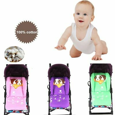 Cotton Thick Universal Stroller Pad Cart Liner Baby Pushchair Mat Seat Cushion