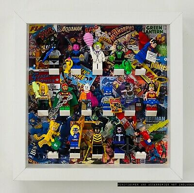 Minifigure Display Frame Lego DC Comics Super Heroes Series CMF 71026 no figures