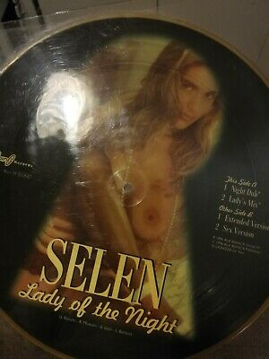 Selen (2) ‎– Lady Of The Night Picture Disc OGG 896001 1996 italy first press