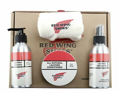 Red Wing Heritage Oiled-Tanned Leather Care Product Kit 97096