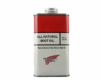 Red Wing Heritage All Natural Boot Oil 8 oz. (237ml) 97103