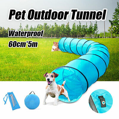 Waterproof Dog Agility Training Exercise Long Outdoor  Tunnel