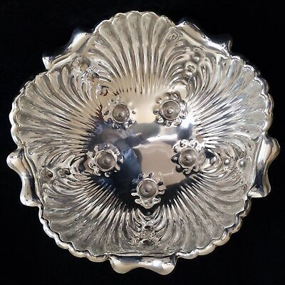 Whiting Antique American Sterling Silver Large Bowl. Hallmarked Dated 1887.