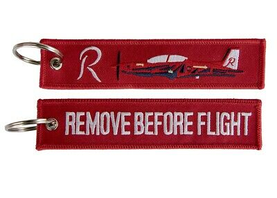 PC-21 Roulette Remove Before Flight Key Ring Luggage Tag