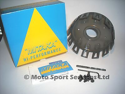 MITAKA Clutch Basket Yamaha YZ125 YZ 125 1983 to 1985 with Rubbers & Collets