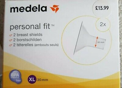 Medela Personal Fit Breastshields XL x 2