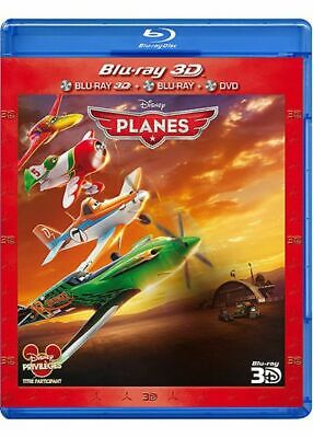 Planes - Combo Blu-ray 3D + Blu-ray + DVD Neuf sous blister
