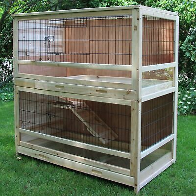 wooden CHICKEN COOP Helma EASY CLEAN run hen house cover supplies wire cage hut