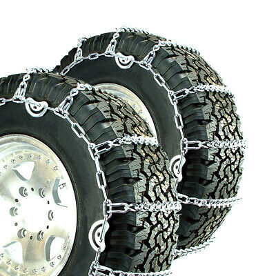Titan V-Bar Tire Chains CAM Type Ice or Snow Covered Roads 7mm 11-24.5