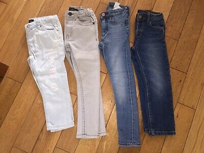 Boys Gorgeous Bundle Of Skinny Straight Ripped Jeans Mayoral River Island H&M
