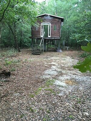 4.57 Acres Log Cabin House w/ Land Property South Carolina woods deer