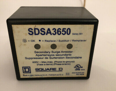 Square D SDSA 3650 Series001 Secondary Surge Arrester