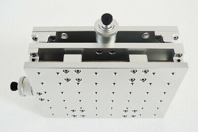 INTBUYING 2 Axis Moving Table Portable XY Table for Laser Marking Engraving