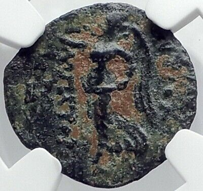 ANTIOCHOS IX Kyzikenos Original Ancient SELEUKID Greek Coin EROS NIKE NGC i82089