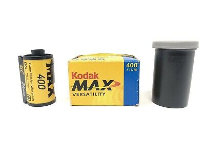 Kodak Max Versatility 400 35mm Size 24 Exposure Expires 03/2005