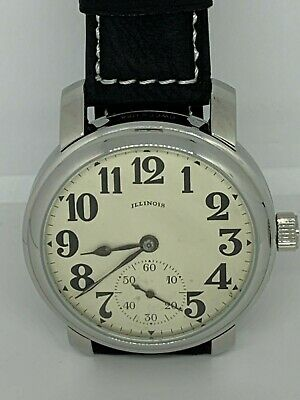 Illinois 16s 15j Mariage watch converted pocket watch