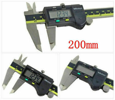 "New  Mitutoyo Digimatic Vernier Caliper 500-196-20/30 200mm/8"" Absolute Digital"