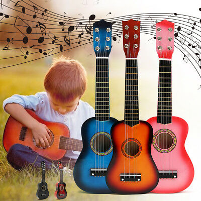 2019 MECO 21'' Kids Acoustic Guitar 6 String Practice Music Instruments Gift