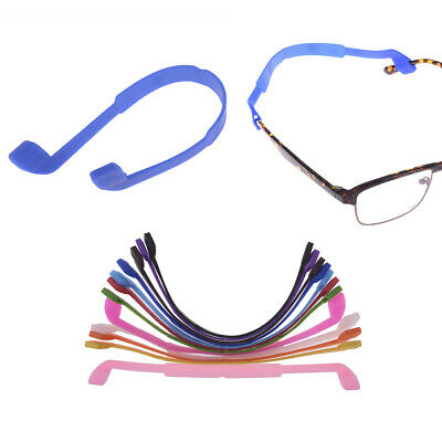 1PC Silicone Eyeglasses Strap Practical Glasses Sunglasses Band Cord Holder~GN