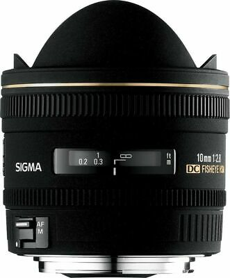 Sigma EX 10mm F/2.8 HSM DC Fisheye Lens For Canon EOS