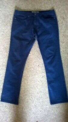 Ladies NEW LOOK skinny jeans, BNWOT dark blue W36/L32 perfect with stretch 16