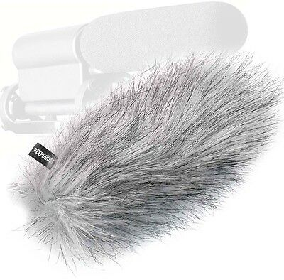 Keepdrum Ws-Wh fur Windscreen for Video Microphone Camcorder Richtrohr-Mikrofon