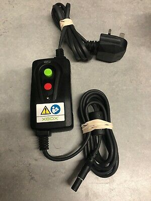 Original microsoft xbox console Power Surge Protector - part no X800924-100 UK