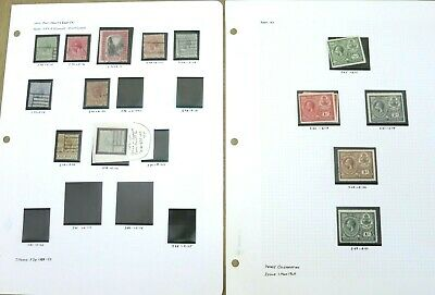 BAHAMAS Stamp Collection on Pages Covering the Period from 1870 to 1982