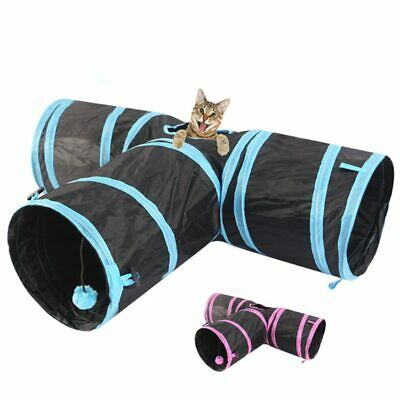 Cat Foldable Tunnel Pet Kitten Play Toy Puppy Cute Dog Outdoor Game