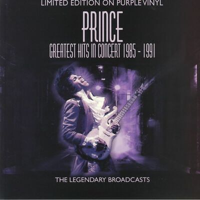 Prince - Greatest Hits In Concert 85-91 Purple Vinyl LP AAVNY008