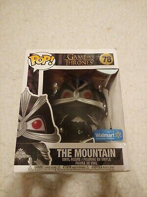 Funko Pop The Mountain #78 Game Of Thrones 6 Inch Walmart Exclusive damaged box.