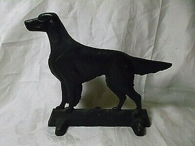 Cast Iron Dog Irish Setter  Doorstop Virginia Metalcrafters