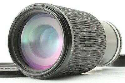 【MINT】Nikon ZOOM-NIKKOR 80-200mm f/4 MF Ai-S Lens w/ Filter from japan #387