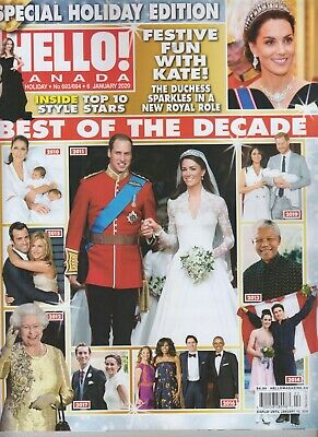 Best Of The Decade Hello! Canada Magazine January 6 2020 Festive Fun With Kate!