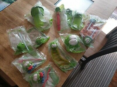 McDonald's Om Nom Cut The Rope Toys complete set original bags 2015 happy meal