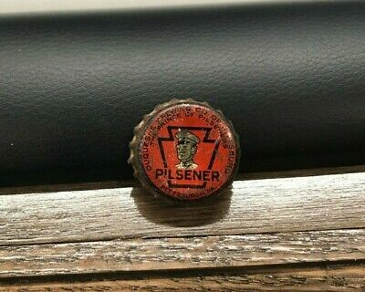Vintage Duquesne Beer Brewing Co Pa Tax Keystone Pint Cork Bottle Cap Pittsburgh