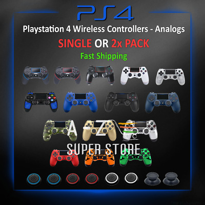 Playstation 4 Controller Bluetooth Wireless Dualshock4 PS4 Video Game lot Analog