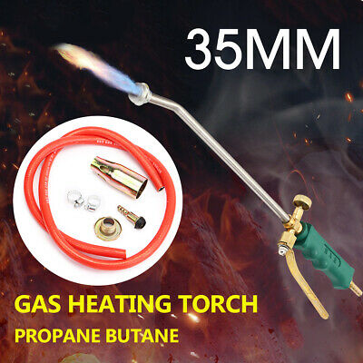 2 Switch Propane Torch Nozzle Ice Melter Weed Burner Welding Flame Lighter Kit