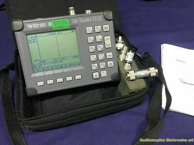 Cable and Antenna Analyzer Wiltron Site Master S113