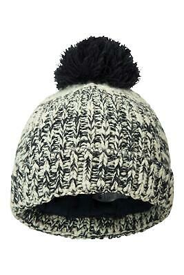 Mountain Warehouse Twisted Knitted Kids Beanie - Warm Winter Hat